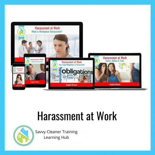 Harassment at Work, Savvy Cleaner Training Course