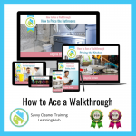 How to Ace a Walkthrough, Savvy Cleaner Training 500 x 500