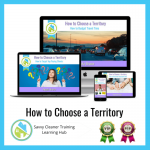 How to Choose a Territory - Savvy Cleaner Training Course