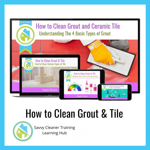 How to Clean Grout and Tile, Savvy Cleaner Training Course