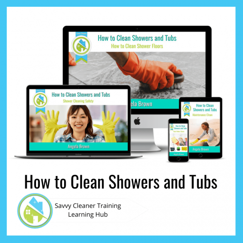 How to Clean Showers and Tubs, Savvy Cleaner Training Course