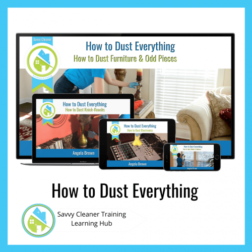 How to Dust Everything, Savvy Cleaner Training Course