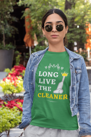 Long Live the Cleaner Savvy Cleaner Funny Cleaning Shirts Standard Tee