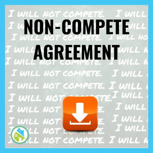 Non Compete Agreement Savvy Cleaner Training