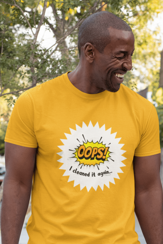 Oops I Cleaned it Again Savvy Cleaner Funny Cleaning Shirts Premium T-Shirt