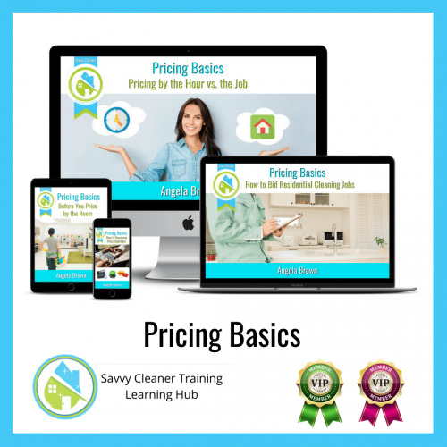 Pricing Basics, Savvy Cleaner Training Course