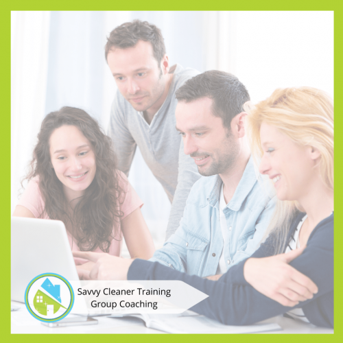 Savvy Cleaner Group Coaching 10
