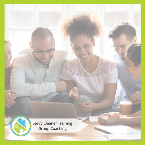 Savvy Cleaner Group Coaching 11