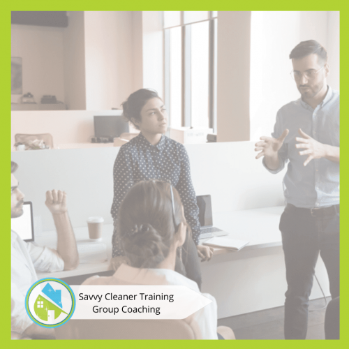 Savvy Cleaner Group Coaching 12