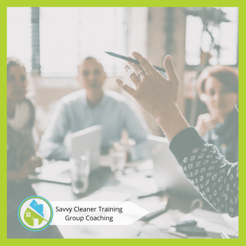 Savvy Cleaner Group Coaching 15