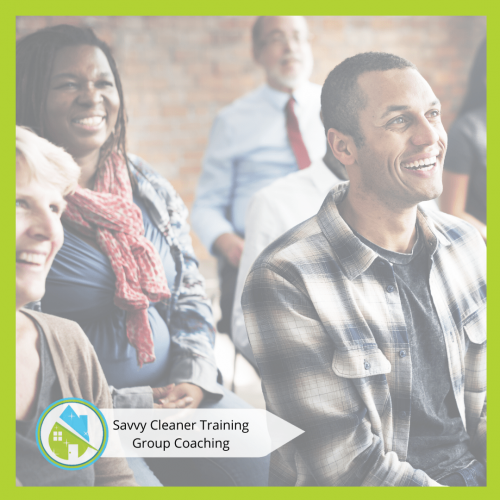 Savvy Cleaner Group Coaching 20