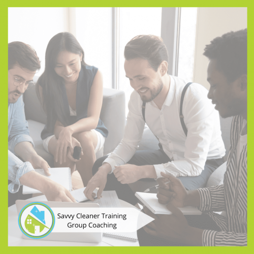 Savvy Cleaner Group Coaching 21
