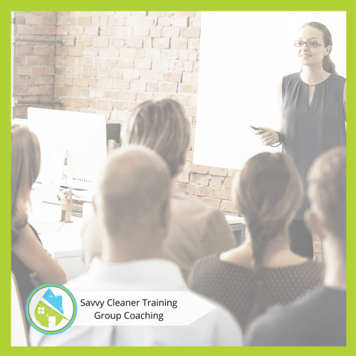 Savvy Cleaner Group Coaching 22