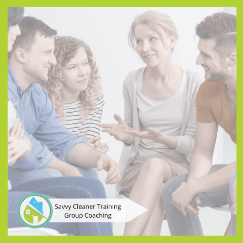 Savvy Cleaner Group Coaching 24