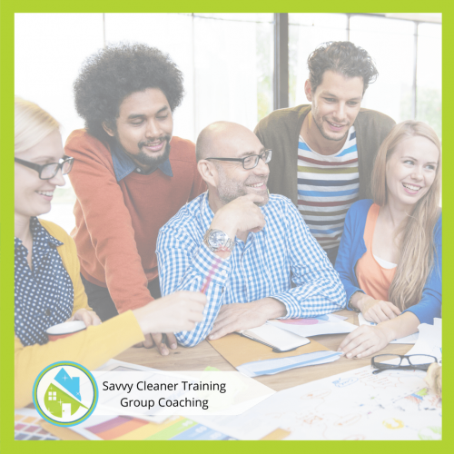 Savvy Cleaner Group Coaching 5