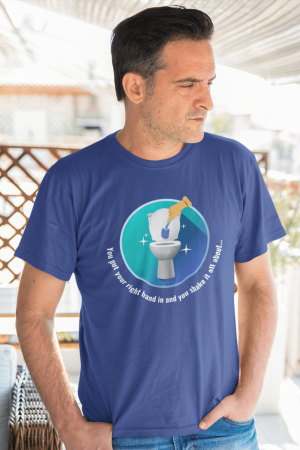Shake it All About Savvy Cleaner Funny Cleaning Shirts Men's Standard T-Shirt