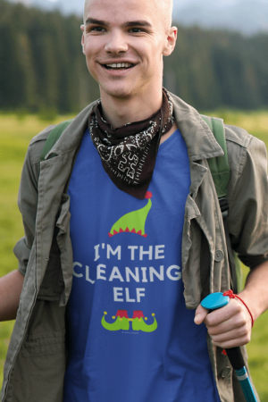 The Cleaning Elf, Savvy Cleaner Funny Cleaning Shirts, Classic T-Shirt