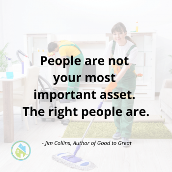 The Right People Savvy Cleaner Inspiration