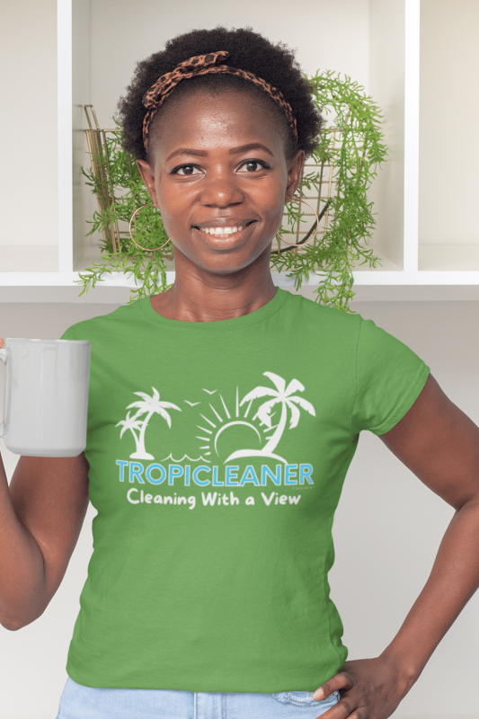 Tropicleaner Savvy Cleaner Funny Cleaning Shirts Women's Standard T-Shirt