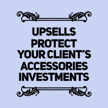 Upsells and Special Packages Reasons Accessories Investment