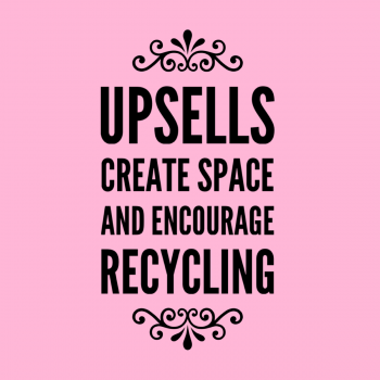 Upsells and Special Packages Reasons Create Space