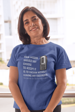 Your Mission Savvy Cleaner Funny Cleaning Shirts Women's Standard Tee