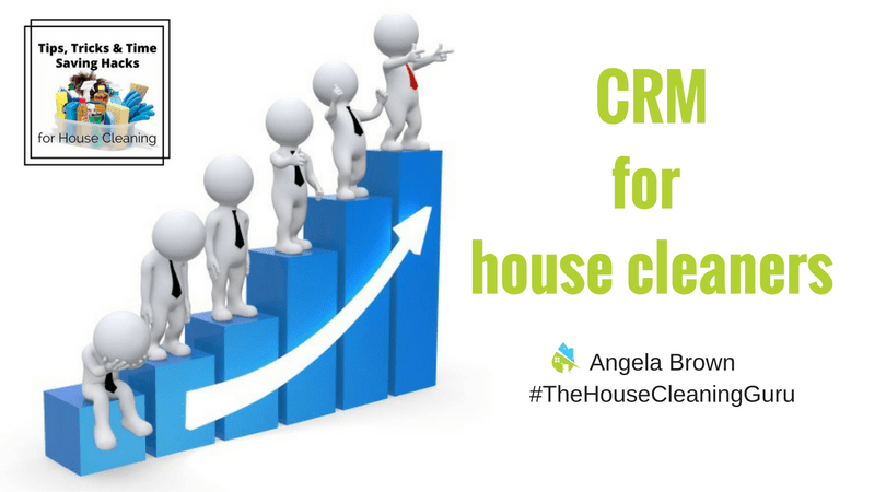 CRM for House Cleaners @ SavvyCleaner