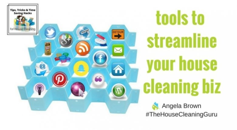 Organizational Tools for House Cleaners @SavvyCleaner