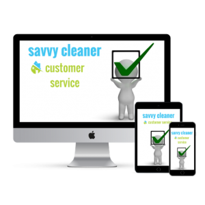 Savvy Cleaner Customer Service