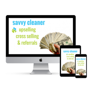 Savvy Cleaner Upsell Cross Sell Referrals