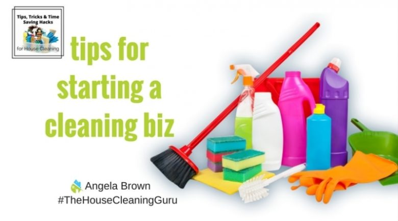 Start a Cleaning Business @SavvyCleaner
