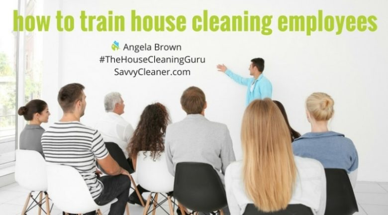 Training House Cleaning Employees